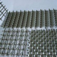 Malha de arame ondulado galvanizado