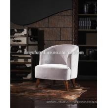 Chaise de fauteuil à bras simple de style français A621