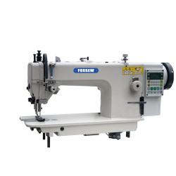 Maszyna do szycia z górnym i dolnym podajnikiem bezpośrednim