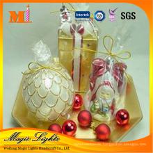 Vivid Christmas Decoration Candle Gift Set