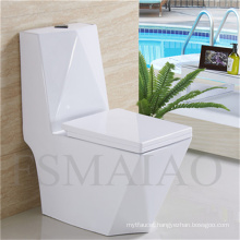 Sanitary Wares Hot Sale One Piece Ceramic Siphonic Toilet (8111)