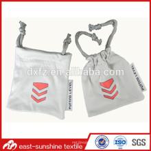 Small Microfiber Bolsas, Custom Small Drawstring sacolas, Custom Small Drawstring bolsas de lona