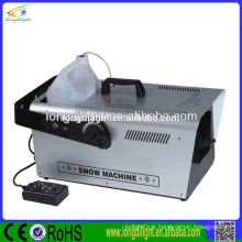 Stage equiment DMX512 máquina profissional de neve poderosa