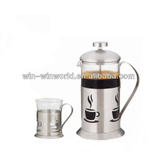 Wholesale Stainless Steel Pyrex French Coffee Press