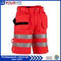 Polyester Cotton High Visibility Cheap Work Shorts (YGK119)