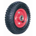 Pneumatic Rubber Wheel 8*2.50-4 With Red Metal Rim