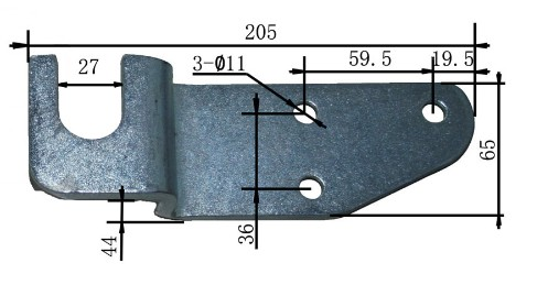 Handle Latch Hook and Hinge for Wing Truck Boy Parts