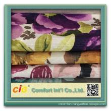 Wholesale Polyester Knitting Printed Sofa Fabric
