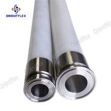 Flexible food grade 4 ply silicone hose
