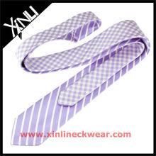 Corbata de seda de doble cara 100%