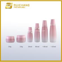Bocaux et bouteilles en verre cosmétique