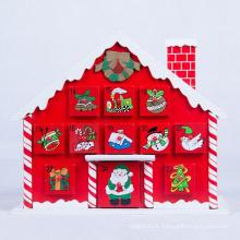 Nouvelle conception de Noël rouge décoration de maison modèle de Noël pour le cadeau de Noël