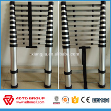 China manufacture EN131aluminum telescopic lightweight folding ladder
