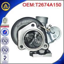Turbocompresor TB25 T2674A150 para motor PERKINS P135TI