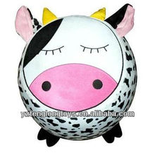 new type plush cow inflatable stool