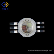 45mil RGB Chip High Power LED 6 Pin 3W RGB LED