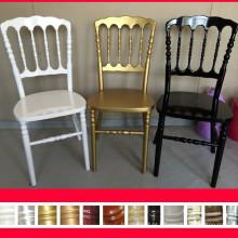 Cadeira de napoleão de aluguer de cores diversas, chaise napoloen