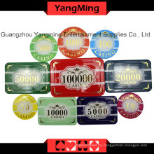 Высокая-класс Ворона набор покерных фишек (760ПК) Юм-Scma001