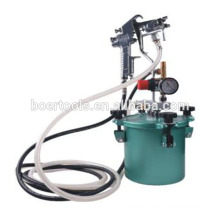 2.5L Air Paint Pressure Tank Painting Tank Mini paint tank with spray gun