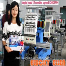 Hochgeschwindigkeitsstickerei Einzelkopf-Stickmaschine