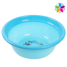 Fashion Printed Round Plastic Wash Basin (SLP050)