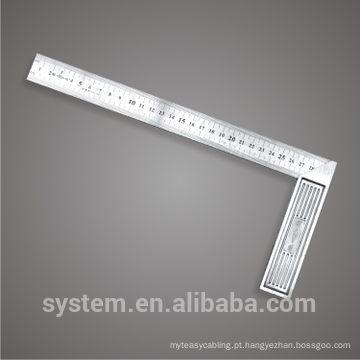 Ruler L-square Quadrado de aço inoxidável