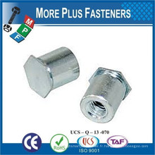 Fabriqué à Taiwan Self Clinching Stand Off Nuts Self Broaching Spacer Self Clinching Hex Blind Stand Off