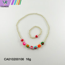 Imitation pearl children's jewelry