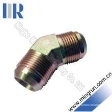 45 Elbow Jic Male Hydraulic Adapter Tube Fitting (1J4)