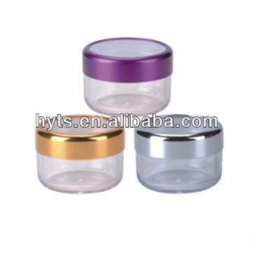 pots cosmétiques en plastique