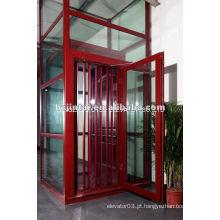 Vvvf traction Passenger home elevator para venda
