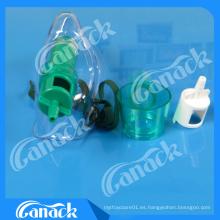 Ce & ISO Aprobado Medical Venturi Máscara Ajustable con Dos Diluentes