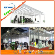 Portable and modular luminous trade show booth display from Shanghai in China