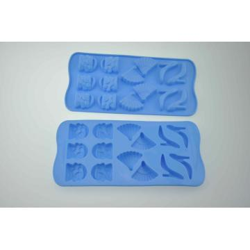 High Heel Shell Cupcake Shape Silicone Ice Mold