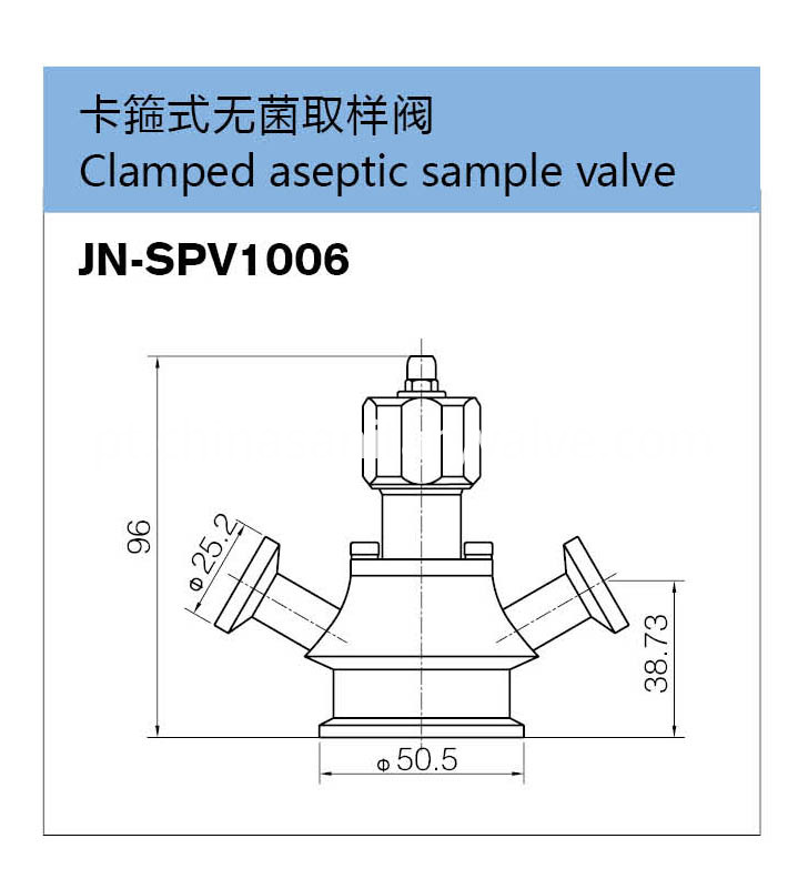 sanitary aseptic sample valves