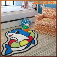 Tapete colorido super confortável da sala de estar do bebê do toque