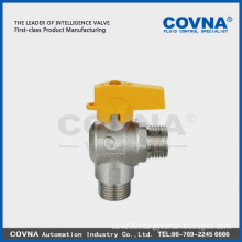 China manufacturer Brass stem Water Media ball valve gas valve
