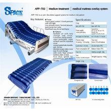 Hauspflege und Krankenhausgebrauch APP-Overlay-System Wechseldruck-Matratze mit Pumpe APP-T02