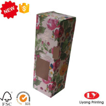 Cosmetic packaging gift snap bottom box