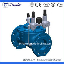 Válvula de regulación automática de presión de presión múltiple