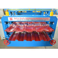 CE Double Color Steel Glazed Roll Forming Machine