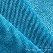 28W Super Soft Nylon Corduroy Fabric Bonded for Upholstery
