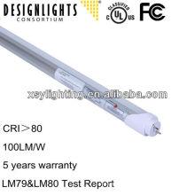 3/5 años de garantía t8 ul y dlc enumeraron el tubo llevó la luz 22w 1200m m llevó el tubo ligero