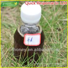 dark amber pure buckwheat honey