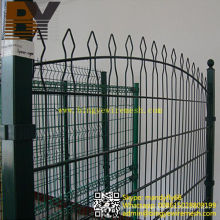 Powder Coated Double Loop Draht Zaun