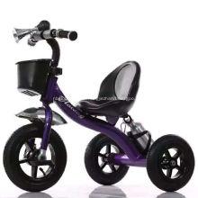 Детский трехколесный велосипед с заднее сиденье