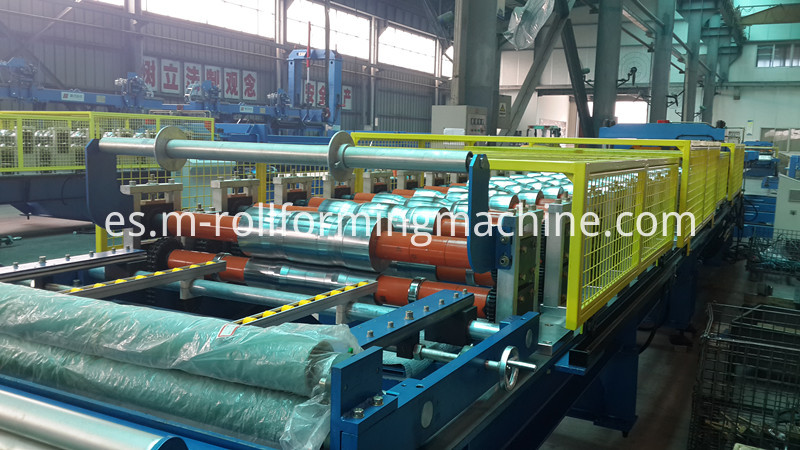 Wall panel making production line_