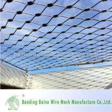 Malla de alambre de protección de acero inoxidable arquitectónico