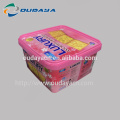 IML box cracker packaging box with lid