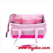Fashion Pink Basket Pet Travel Bag